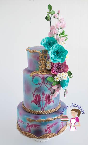 Wedding cakes by Veena Azmanov in Israel, Ra'anana, Tel-Aviv, Sfar-Saba.